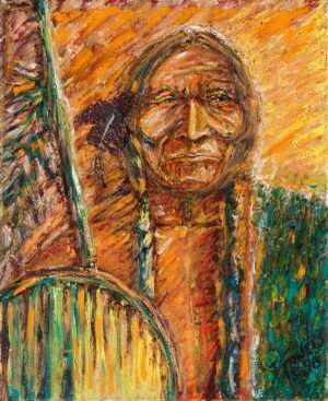 41-Indian-Warrior-Oils-Private-Collection