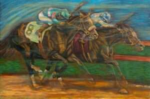 12-Two-Horses-Racing-Number-8